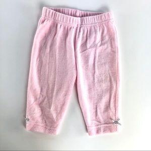Pink baby pants